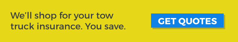 We can help you save on your tow truck insurance.
